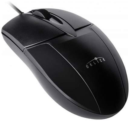 Проводная мышка OKLICK 145M Black