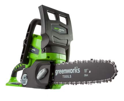 Аккумуляторная цепная пила Greenworks G24CS25 2000007va
