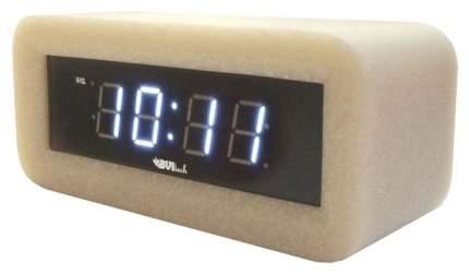 Часы-будильник BVItech BV-18WWS Белый/Камень