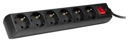 Сетевой фильтр Sven Optima, 6 розеток, 1,8 м, Black