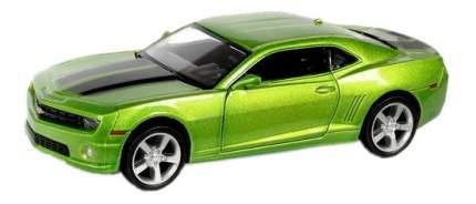 Машина металлическая Uni-Fortune 1:32 Chevrolet Camaro инерционная зеленый металлик