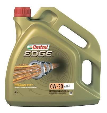 Моторное масло Castrol EDGE Titanium FST 0w30 А3/В4 (4л)