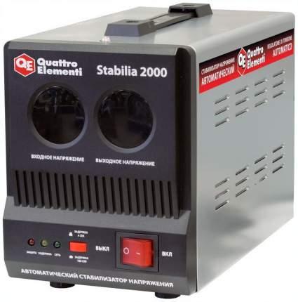 Однофазный стабилизатор QUATTRO ELEMENTI 772-067