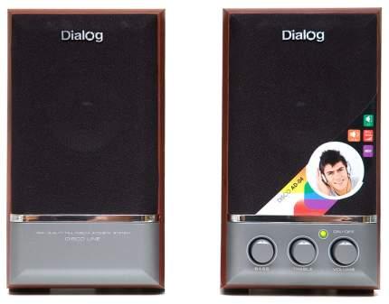 Колонки компьютерные Dialog Disco AD-04 Вишня