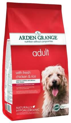 Сухой корм для собак Arden Grange Adult, курица, рис,  6кг