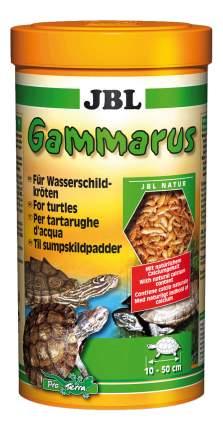 Корм для рептилий JBL Gammarus для водных черепах, очищенный, специальная упаковка, 1л