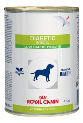 Консервы для собак ROYAL CANIN Diabetic Special Low Carbohydrate, мясо, 12шт по 410г