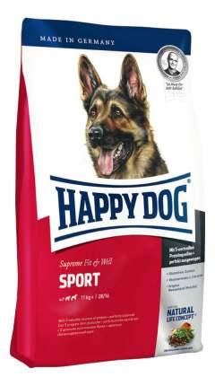 Сухой корм для собак Happy Dog Supreme Fit & Well Sport, для активных, домашняя птица, 4кг