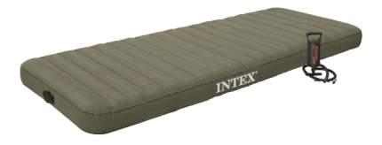 Надувной матрас INTEX 76х191х15 см Roll N Go Bed