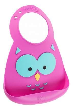 Нагрудник Make my day Baby Bib Owl