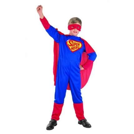 Карнавальный костюм Snowmen Супермен с Плащом 7-10 лет