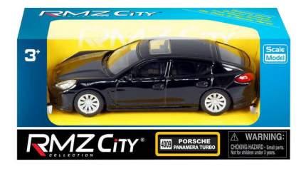 Коллекционная модель Uni-Fortune Porsche Panamera Turbo черная 1:43