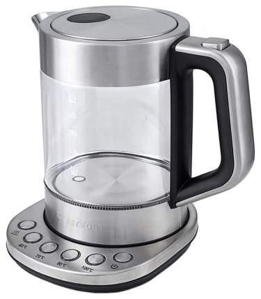 Чайник электрический Kitfort KT-616 Silver/Black