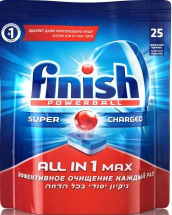 Таблетки для посудомоечной машины Finish all in 1 max 25 штук