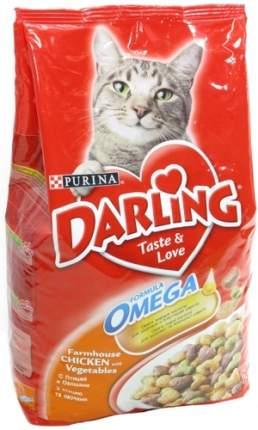 Сухой корм для кошек Darling, домашняя птица, овощи, 10кг