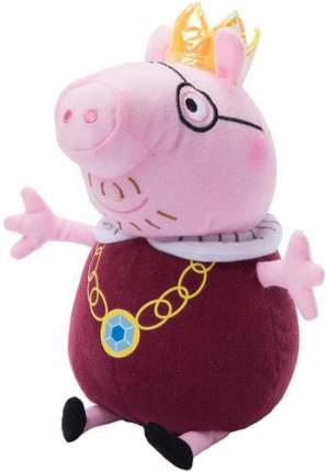 Мягкая игрушка Peppa Pig Папа Свин король, 30 см (31154)