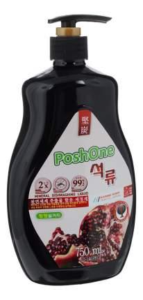 Средство для мытья посуды Posh one с экстрактом граната для овощей и фруктов 750 мл
