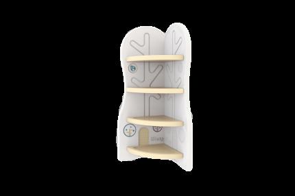 Стеллаж для игрушек угловой DesignToy-3