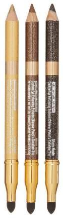 Набор для макияжа глаз Shimmer Strips Pencil+Smudger Trio - Glam Nude Eyes