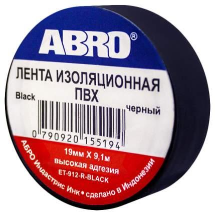 Изолента ABRO ЕT-912 черная