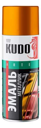 Эмаль универсальная алюминий KUDO ,520 мл