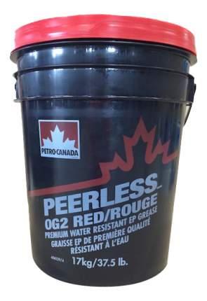 Специальная смазка для автомобиля Petro-Canada PEERLESS OG 2 RED 17 кг