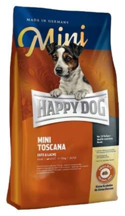 Сухой корм для собак Happy Dog Supreme Mini Toscana, для мелких пород, утка, 0,3кг