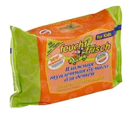 Влажная Туалетная бумага Feucht & Frisch 60 шт