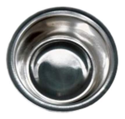 Одинарная миска для собак Papillon, металл, серебристый, 0.35 л