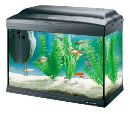 Аквариум для рыб Ferplast Cayman 40 Classic, черный, 21 л