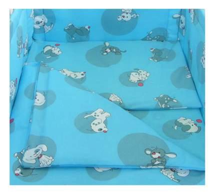 Наволочка на подушку Фея Наши друзья голубой