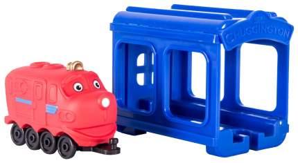 Гараж игрушечный Jazwares Chuggington Паровозик Уилсон