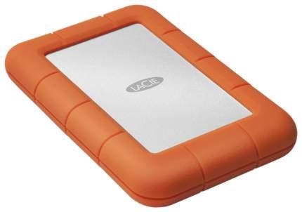 Внешний диск HDD LaCie Rugged Mini 4TB Orange/Grey (LAC9000633)