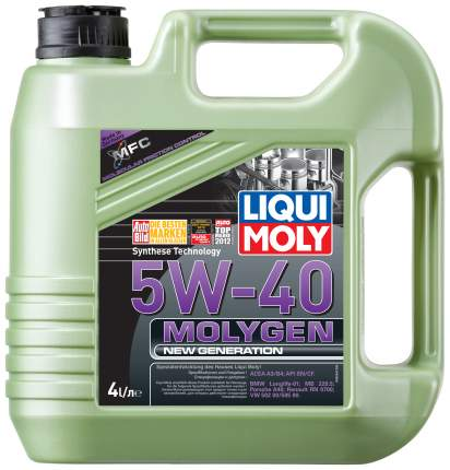 Моторное масло LIQUI MOLY Molygen New Generation 5w40 4л 9054