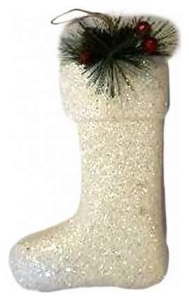 Чулок для подарков Новогодняя сказка Валенок 22 см