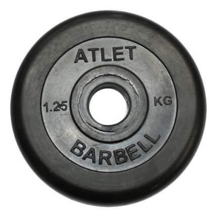 Диск для штанги MB Barbell Atlet 1,25 кг, 51 мм