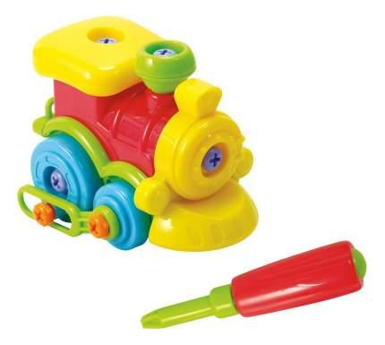 Машинка пластиковая Playgo Юный механик с паровозиком