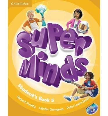 Super Minds 5 SB+DVD