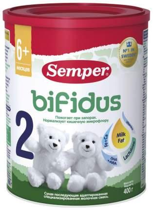 Молочная смесь 2 (от 6 до 12 мес.) Semper Bifidus 400 г