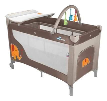 Кроватка Baby Design Dream beige