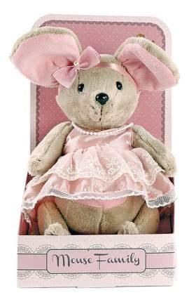 Мягкая игрушка Fluffy Family Мышка Lady Mouse Зефирка 25 см Разноцветный