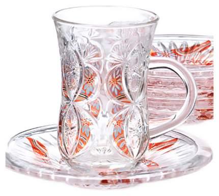 Чайный сервиз LORAINE LR-27089 6 пер.
