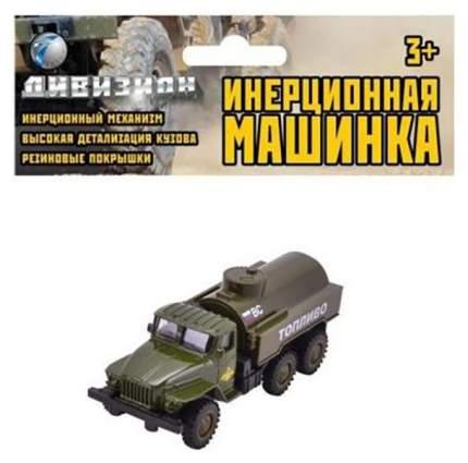 Машина Shantou Gepai Военный бензовоз 1502a-14 инерционная