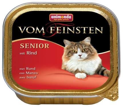 Консервы для кошек Animonda Vom Feinsten Senior, говядина, мясо, 32шт, 100г
