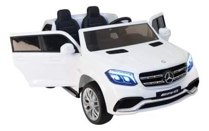 Электромобиль Mercedes-Benz GLS63 AMG белый RIVERTOYS