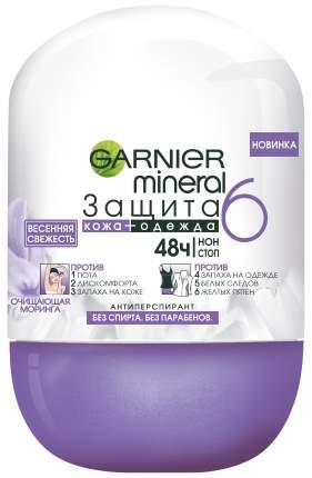 Дезодорант-антиперспирант Garnier Защита 6 Весенняя свежесть 50 мл