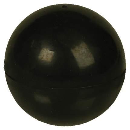 Апорт для собак Зооник Мяч цельнорезиновый, черный, 5 см