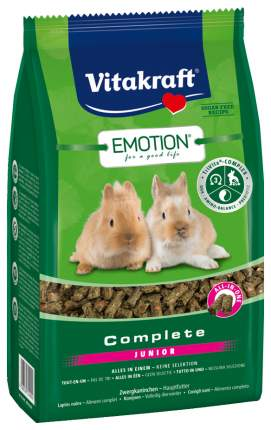 Корм для кроликов Vitakraft Complete 0.8 кг 1 шт