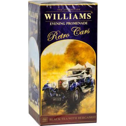 Чай черный Williams коллекция retro cars evening promenade 250 г