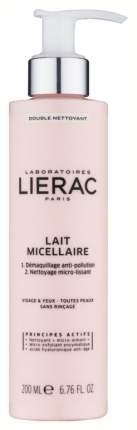 Молочко для лица Lierac Desmaquillante Leche Micelar 200 мл